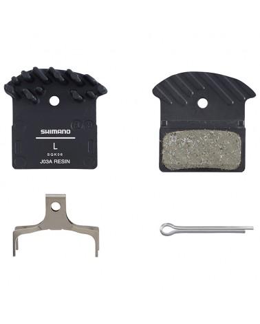 Shimano Resin Brake Pads J023 Spring/Split Pin Included