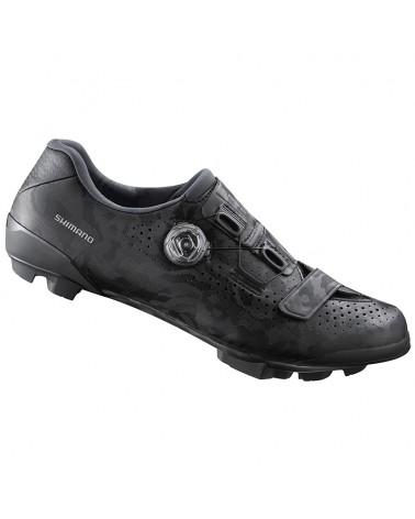 Shimano SH-RX800 Men's Gravel Cycling Shoes, Black