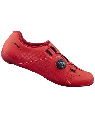 Shimano SH-RC300 Men's Road Cycling Shoes, Red