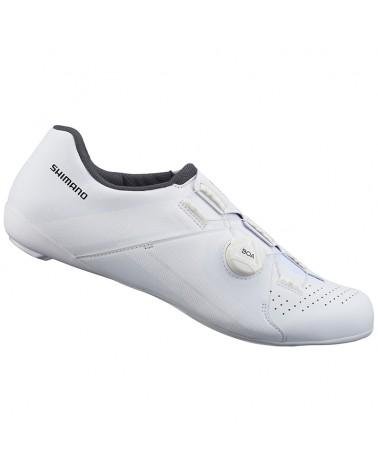 Shimano SH-RC300 Men's Road Cycling Shoes, White