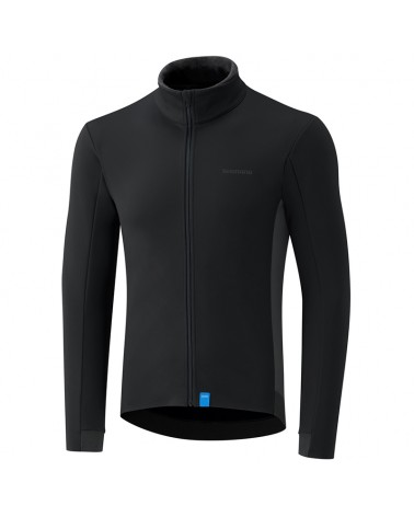 Shimano Wind Men's Cycling Windproof Jersey, Black