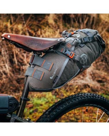 Acepac Saddle Harness Imbracatura Borsa Sottosella Saddle Drybag, Nero