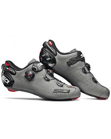 Sidi Wire 2 Carbon Matt Men's Road Cycling Shoes, Matt Grey/Black