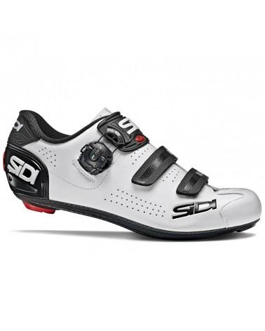 Sidi Alba 2 Men's Road Cycling Shoes, White/Black