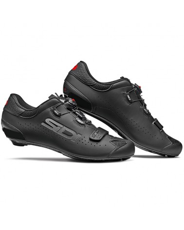 Sidi Sixty Men's Road Cycling Shoes, Black/Black
