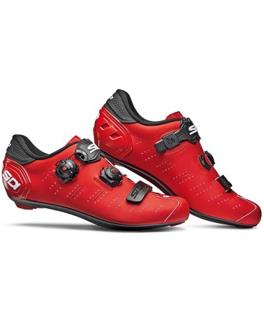 Sidi Ergo 5 Matt Men's Road Cycling Shoes, Matt Red/Black