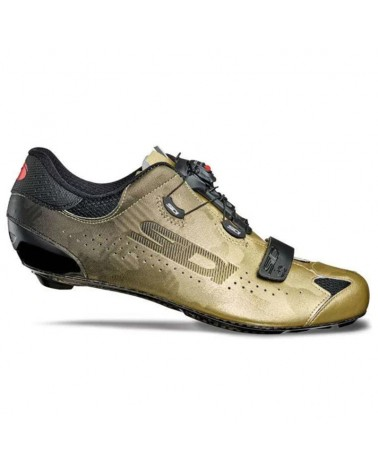Sidi Sixty Men's Road Cycling Shoes, Black/Gold (Limited Edition)