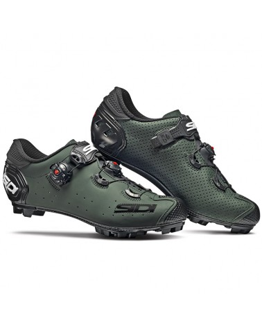 Sidi Jarin Men's MTB Cycling Shoes, Olive Green