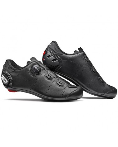 Sidi Fast Men's Road Cycling Shoes, Nero/Nero
