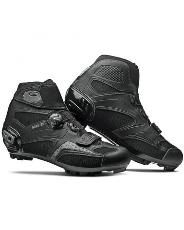 Sidi Frost Gore 2 GTX Gore-Tex Men's MTB Cycling Shoes, Nero/Nero