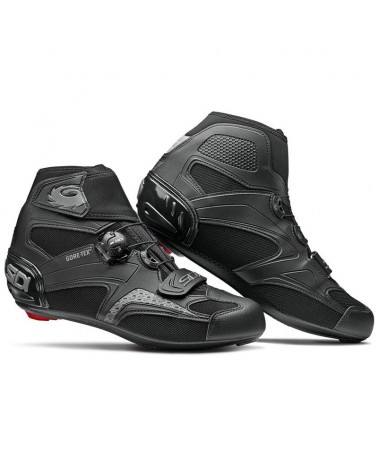 Sidi Zero Gore 2 GTX Gore-Tex Men's Road Cycling Shoes, Nero/Nero