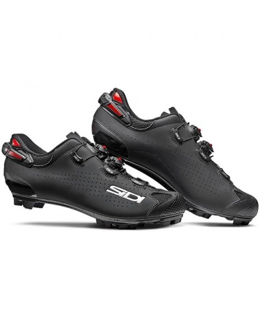 Sidi Tiger 2 Carbon SRS Men's MTB Cycling Shoes, Nero/Nero