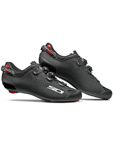 Sidi Shot 2 Men's Road Cycling Shoes, Black/Black