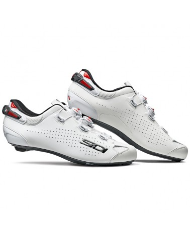 Sidi Shot 2 Men's Road Cycling Shoes, White/White