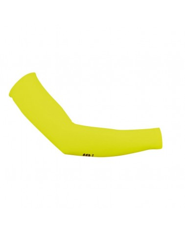 Sportful Manicotti Arm Warmers, Yellow Fluo