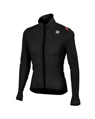 Sportful Hot Pack 6 Jacket Giacca Antivento Ciclismo, Black