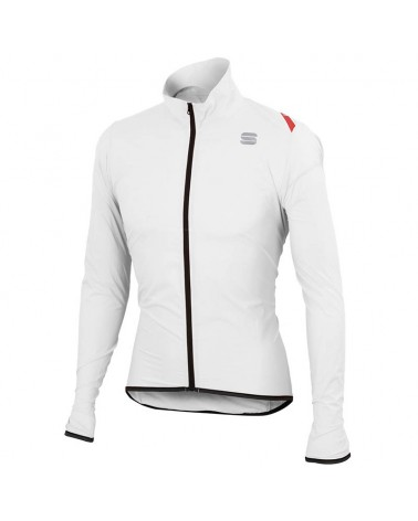 Sportful Hot Pack 6 Jacket Giacca Antivento Ciclismo, White