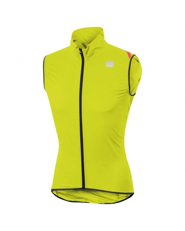 Sportful Hot Pack 6 Vest Gilet Antivento Ciclismo, Yellow Fluo