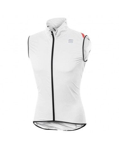 Sportful Hot Pack 6 Vest Gilet Antivento Ciclismo, White