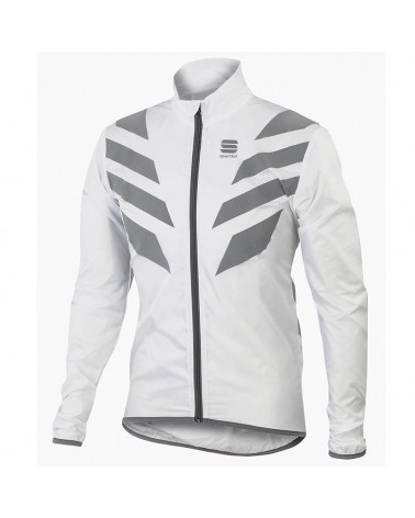 Sportful Reflex Windproof Cycling Packable Jacket, White