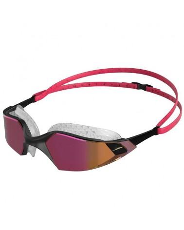 Speedo Aquapulse Pro Mirror Swimming Goggle, Pink/Blue/Clear