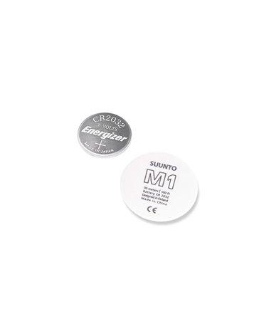 Suunto Kit Batteria Per M1, Con Coperchio Bianco Logo M1 E Guarnizione
