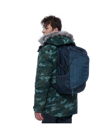 The North Face Terra 65 Backpack Zaino Trekking 65 L, Falcon Brown/Sequoia Red