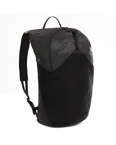 The North Face Flyweight Pack Zaino Comprimibile 17 L , Asphalt Grey/TNF Black