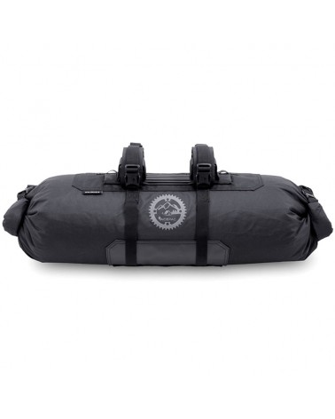 Acepac Bar Roll Borsa Manubrio Volume Variabile 8/16 Litri, Nero