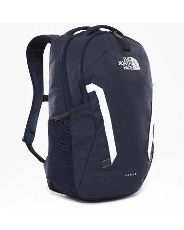 The North Face Vault Backpack 26 Liters, Aviator Navy Light Heather/TNF White
