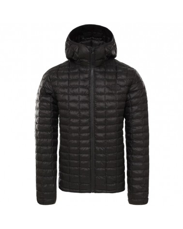 The North Face Thermoball Eco Hoodie Men's Down Jacket, TNF Black Matte