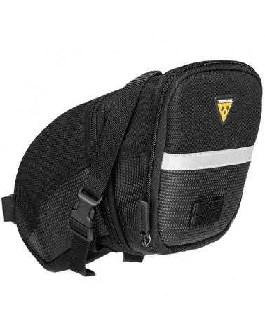Topeak Aero Wedge Strap Mount Saddle Bag Large (Expandable) 1,48-1,97 Liters