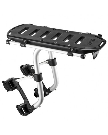 Thule Pack 'n Pedal Tour Rack Portapacchi Anteriore/Posteriore, Black