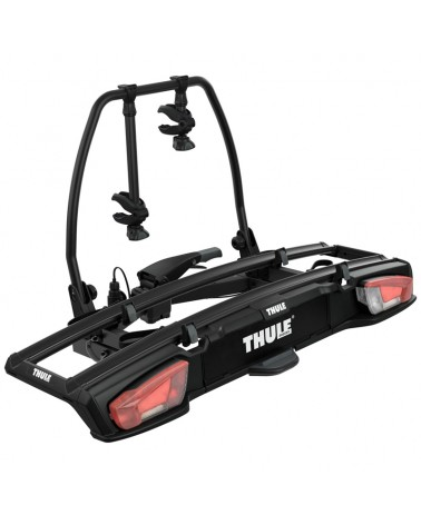 Thule VeloSpace XT 2 938 13 Pin Plug Towbar Bike Rack, Black (2 Bikes)