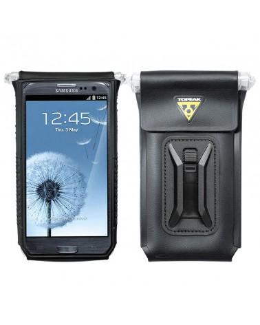 """Topeak Drybag 5'' Custodia Impermeabile Porta Smartphone da  4"""" - 5"""" Attacco Manubrio Bici, Black"""