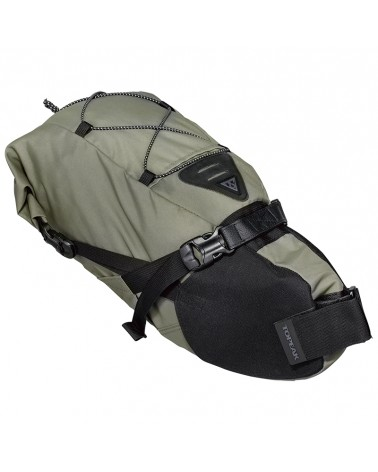 Topeak Backloader Waterproof Saddle Bag 10 Liters, Green