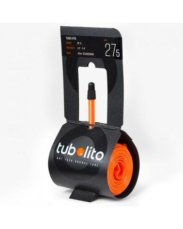 """Tubolito Camera d'Aria 1.8''- 2.4'' 60mm - MTB 27,5"""", Arancione"""