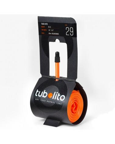 """Tubolito Camera d'Aria 1.8''- 2.4'' 42 mm - MTB 29"""", Arancione"""