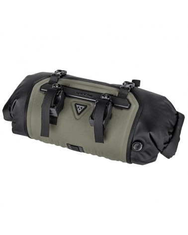 Topeak Frontloader Waterproof Handlebar Bag 8 Liters, Green