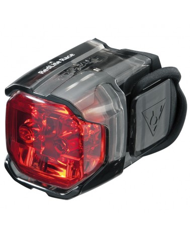 Topeak Redlite Race Luce Posteriore a Led Rosso (con Batterie - 2 Led)