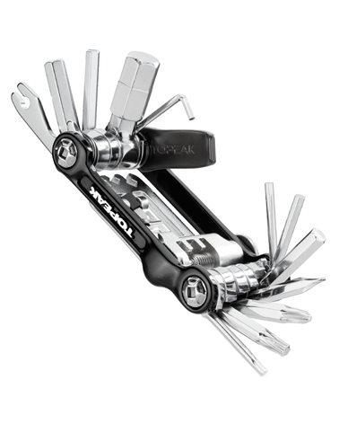 Topeak Mini 20 Pro 23 Functions Bike Multitool, Black (Case Included)