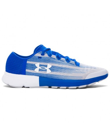 Under Armour SpeedForm Velociti Scarpe Uomo, Glacier Gray/Ultra Blue/White
