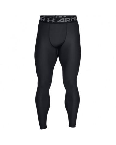 Under Armour HeatGear Armour 2.0 Men's Compression Legging, Black/Graphite