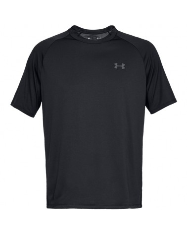 Under Armour UA Tech 2.0 SS Tee Maglia Maniche Corte Uomo, Black/Graphite