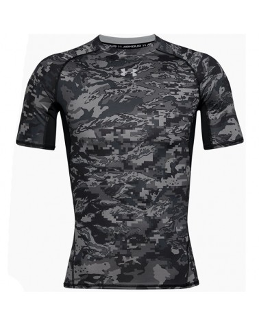 Under Armour UA HG HeatGear Armour Maglia Maniche Corte Uomo, Black