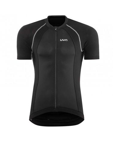 UYN Activyon Biking Men's Cycling Short Sleeve Jersey, Blackboard/Anthracite/Grey