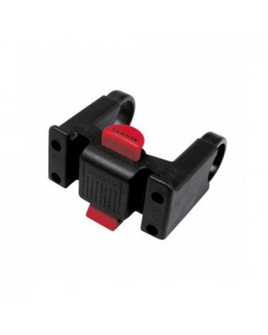 Vaude Klick Fix System Handle Bar Bags Staffa Fissaggio Borsa Manubrio Bici, Black