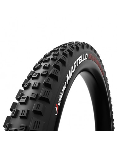 Vittoria Martello Enduro/e-MTB 27.5x2.35 4C G2.0 TLR Fold MTB Tire 120 TPI (2ply), Full Black