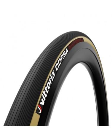 Vittoria Corsa 25-622/700x25c 4C G2.0 Fold Tyre 320TPI, Para/Black/Black
