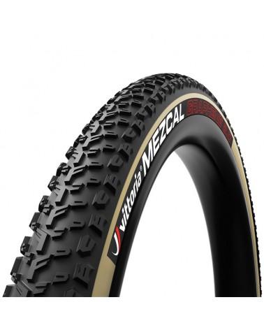 Vittoria Mezcal III 29x2.25 XC-Race TLR 4C G2.0 Fold MTB Tire 120 TPI, Black/Tan